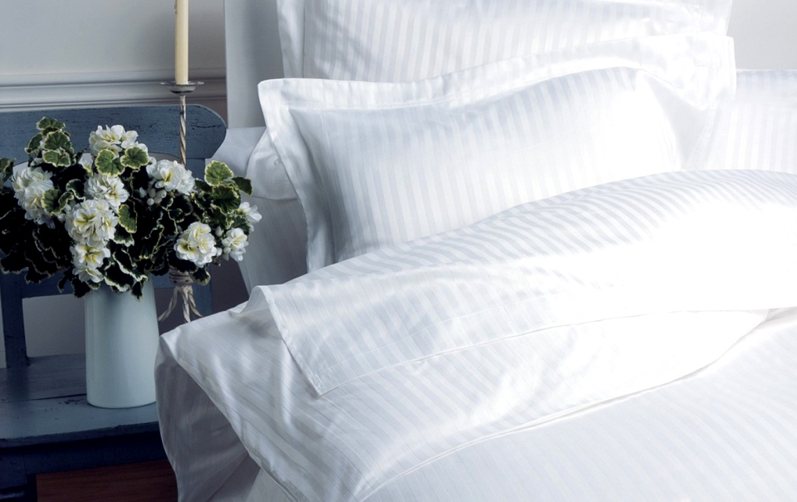 Белое постельное белье как в отелях