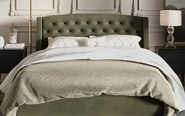 Кровать Миранда (с подъём. механизмом), 200х200 фото