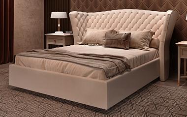Кровать София (с подъём. механизмом), 200х200 фото
